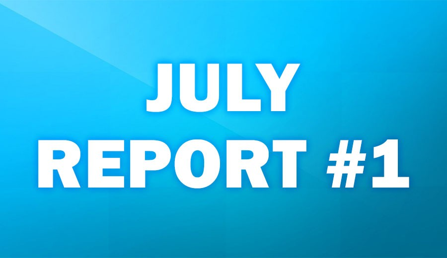 July Report #1
