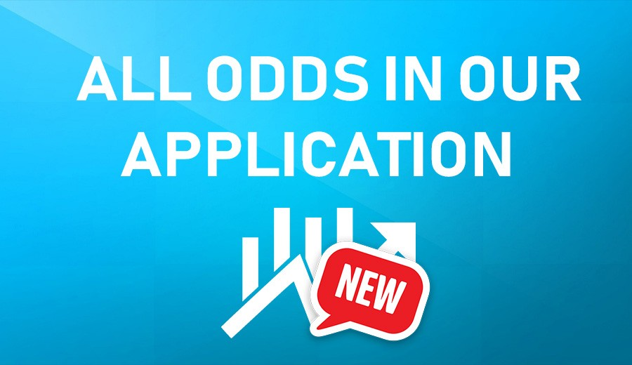 All odds in our application!
