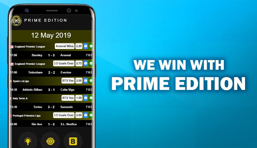We win with Prime Edition!
